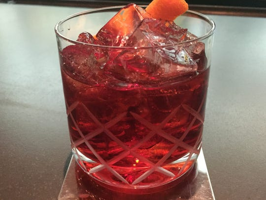 A classic Boulevardier at LuLou's combines rye and