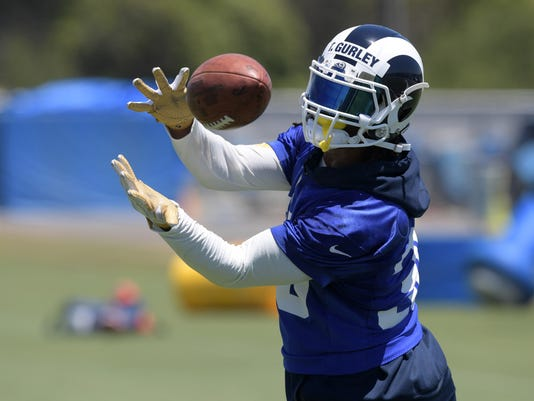 NFL: Los Angeles Rams-Minicamp