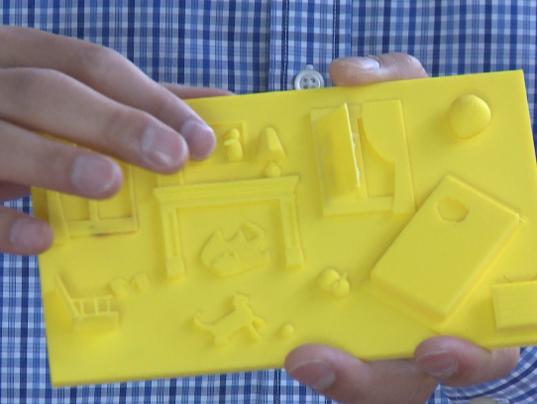 Libro niños ciegos impresión 3D