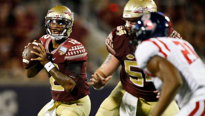 Deondre Francois threw for more than 400 yards in his first appearance for Florida State on Monday night. Was his the best quarterback debut of the weekend?