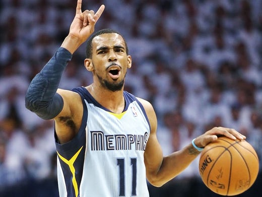 April 21, 2014 -   Memphis Grizzlies guard Mike Conley