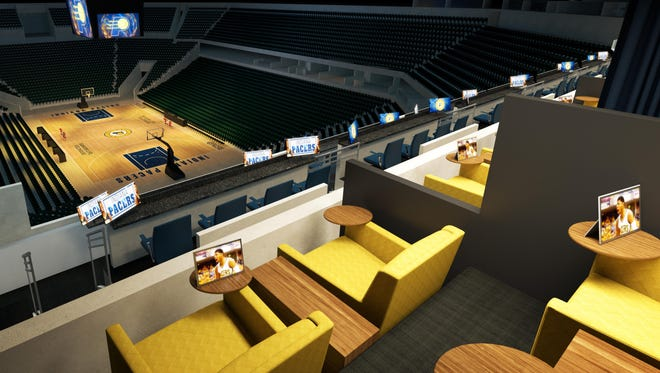 These theatre boxes incude four seats with two parking passes and start at $70,000 annually.
