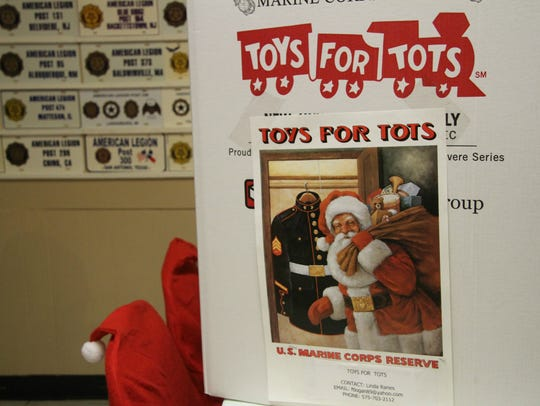 Toys for Tots in Eddy County is sponsored by the Eddy