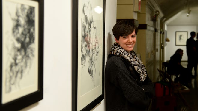 Catch artist in residence Ashleigh McCann's work before it's gone at the Paris Gibson Square Museum of Art.