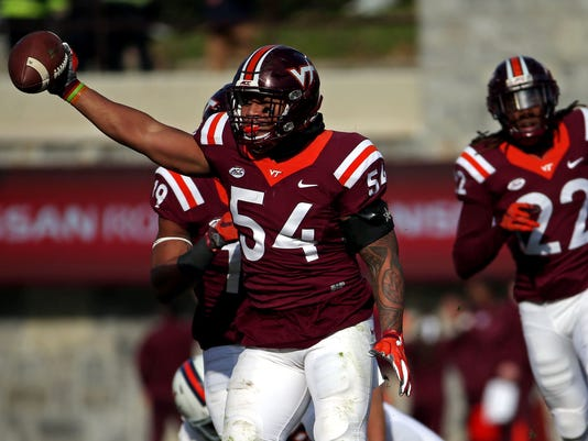 NCAA Football: Virginia at Virginia Tech
