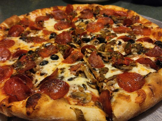 Dion's offers pizza, salads and sandwiches and its