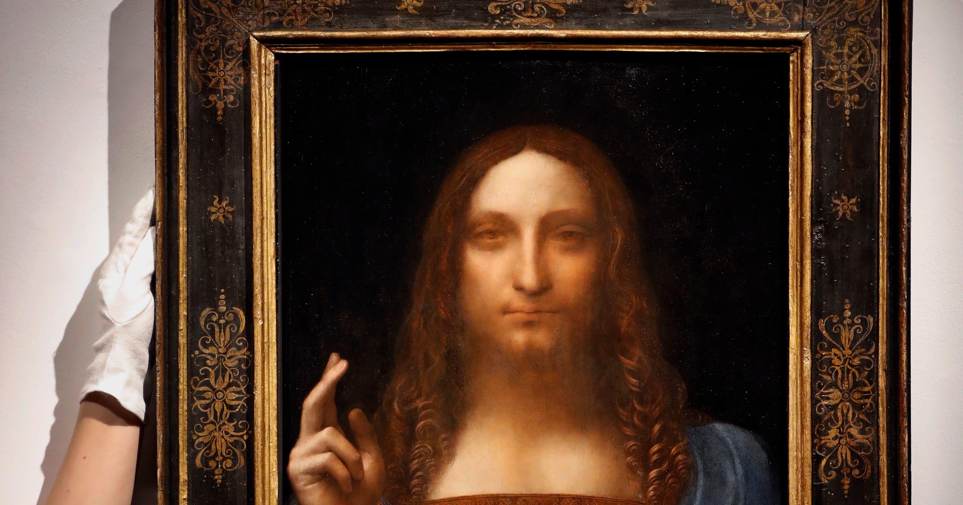 Leonardo Da Vinci's $450 million painting headed to Louvre ...