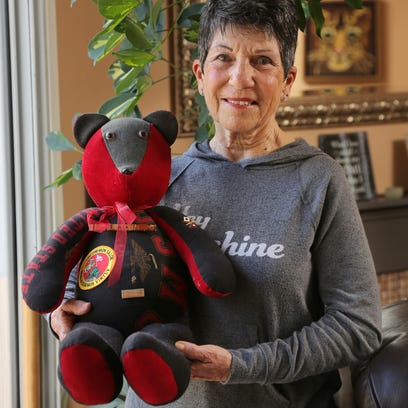 Bearing memories: Agoura woman uses loved one's clothing to create keepsake