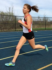 Pinckney's Isabella Garcia set school records in the