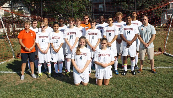 Rochester School for the Deaf varsity soccer team finished 14-5 overall and was honored by national magazine.