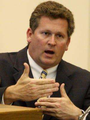 Warren County Coroner Russell Uptegrove