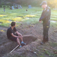 Man arrested for trying to dig up murdered brother's grave