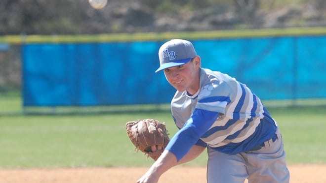 Northern Burlington junior Ryan Shinn fired a no-hitter with 15 strikeouts in Monday's win over Cherokee in the Grand Slam Classic