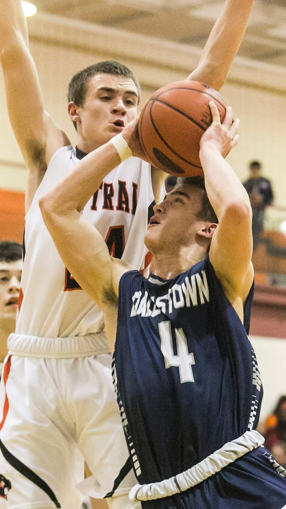 Dallastown's Brandon McGlynn has been nominated for the McDonald's All-American Games. DISPATCH FILE PHOTO