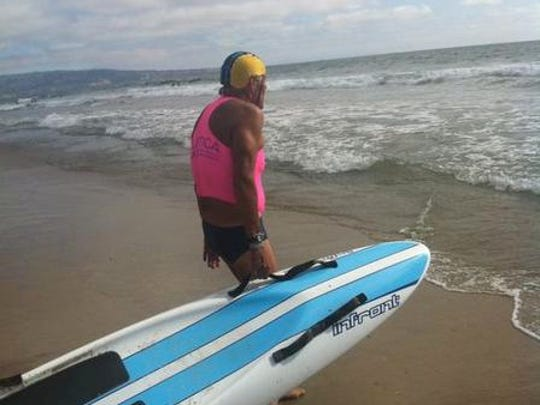 At 83 years old, Bob Burnside remains an active swimmer and last year competed in the United States Lifesaving Association Nationals, held last August in Manhattan Beach.