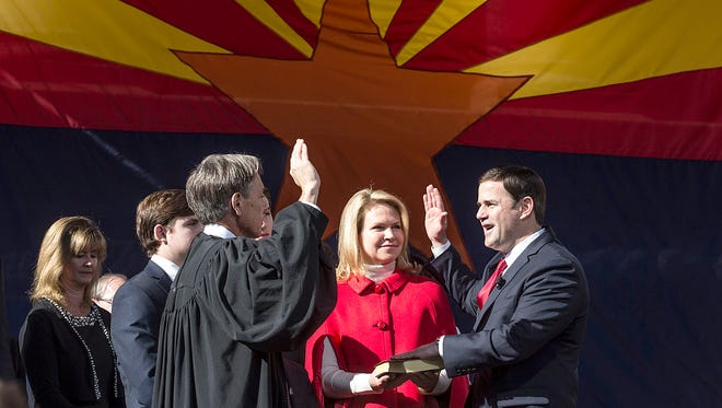 Chief Justice Scott Bales is open to allowing Gov. Doug Ducey pack the court