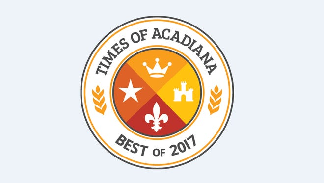 Times of Acadiana Best Of contest 2017.