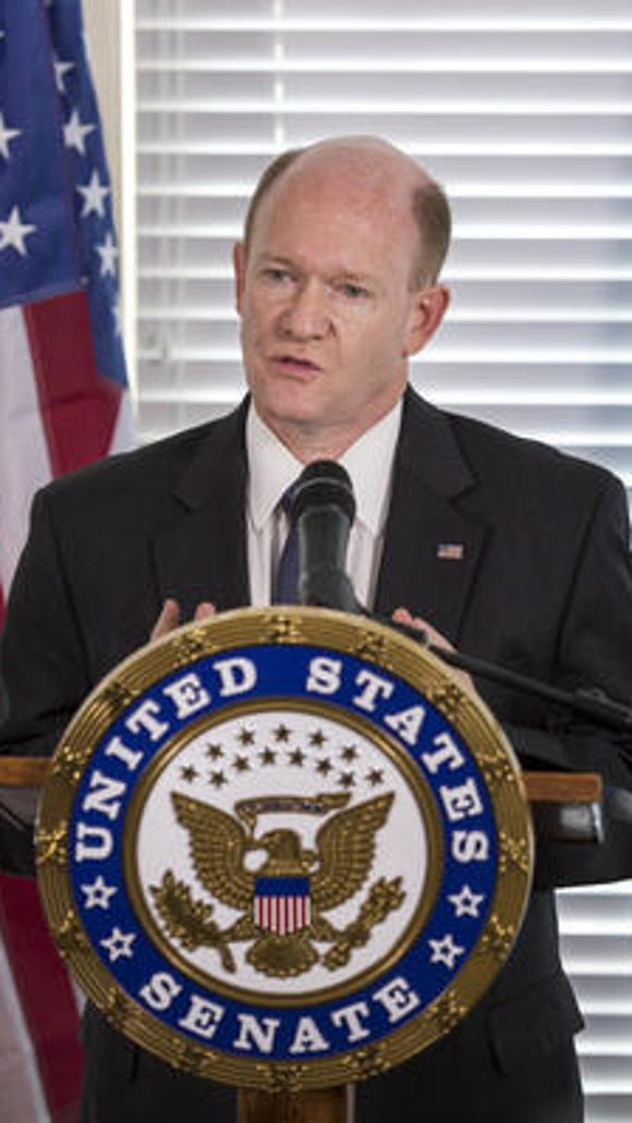 Chris Coons, D-Del., has asked the South African president to finalize a poultry treaty.