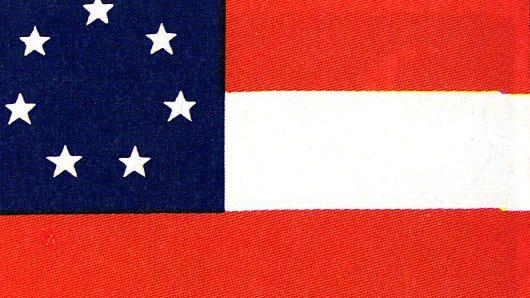 Confederate Stars and Bars flag.