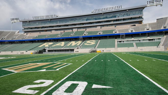 CSU officials announced Monday that they've sold out of single-game tickets for the Rams' first game at its new on campus stadium Aug. 26. Fans can still get into the game against Oregon State that day by purchasing season tickets or three-game mini-plans.