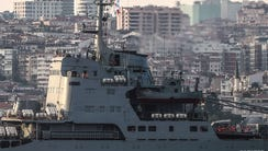 File picture - Russian warship the BSF Saratov 150