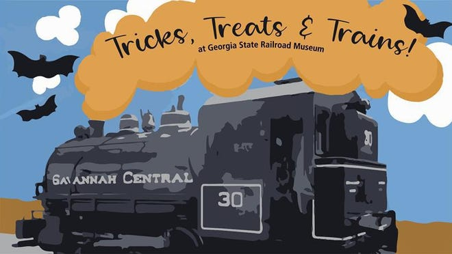 Trick-or-treating experience at Georgia State Railroad Museum, 655 Louisville Road, from 10 a.m.-noon Oct. 31.