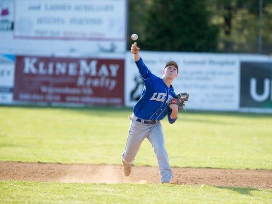 East Rockingham vs Robert E. Lee Baseball