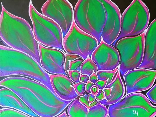 """Succulent"" by Deana Hicks"