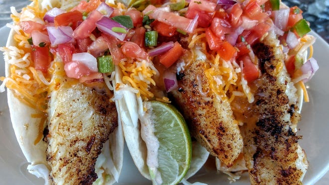 Fish tacos are the top-selling item at TD's Tailgate Grill.