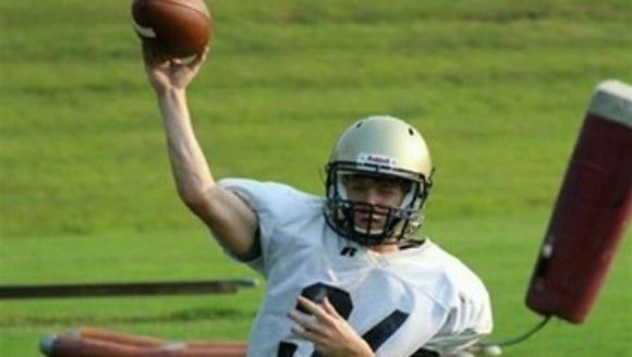 Hayesville sophomore Alan Gillis.