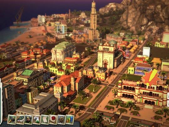 Live the life as El Presidente in satirical nation-building simulator Tropico 5.