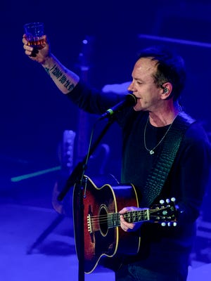 Kiefer Sutherland performs at The Vogue.