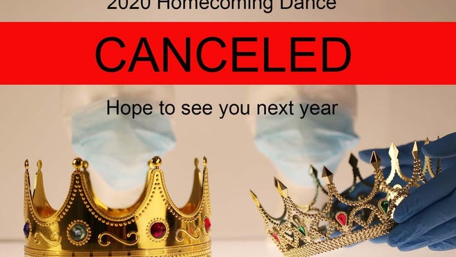 Homecoming dances are being canceled, postponed indefinitely or under threat as school and health officials weigh how best to keep kids safe from a disease that spreads whenever people get together, especially when they're close, like dancing cheek to cheek.