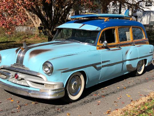 1953 Pontiac Chieftain Custom Wagon