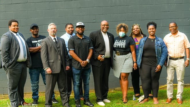 Hendersonville native and creator of the Black Business Network of Western North Carolina Crystal Cauley organized a panel Thursday evening called Speak Out Loud: Voices of Unity. Panelists included Cauley, former Hendersonville Police Chief Donnie Parks, Scottie Parks, Indian Jackson, Tony Robles, Josh Williams, YaShara Lynch, Tamara Lee and Scott Sheffron.