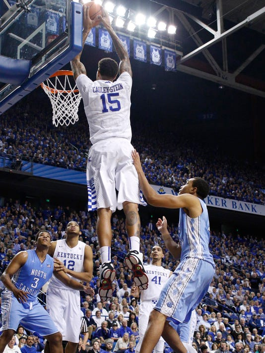 NCAA Basketball: North Carolina at Kentucky