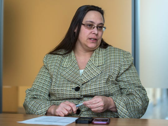 Lisa Menard, commissioner of the Vermont Department of Corrections in Waterbury on Wednesday, January 18, 2017.