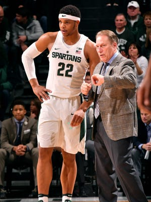 Miles Bridges, Tom Izzo and the Spartans have two nonconference games left before Big Ten play resumes.