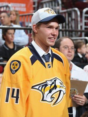 Predators prospect Vladislav Kamenev is captaining the Russian team at the IIHF World Junior Championship.