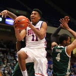 Former Louisiana Tech forward Xavian Stapleton is transferring to Mississippi State.