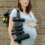Florence Police Officer Lyndi Trischler has filed a federal complaint accusing the city of violating the Pregnancy Discrimination Act.