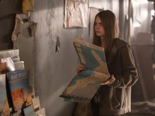 "Cara Delevingne, as Margo, stars in ""Paper Towns."""