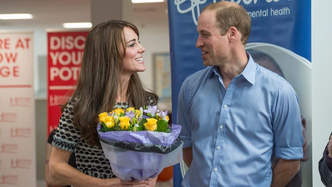 Prince William and Duchess Kate are putting their royal patronage behind mental health charities.