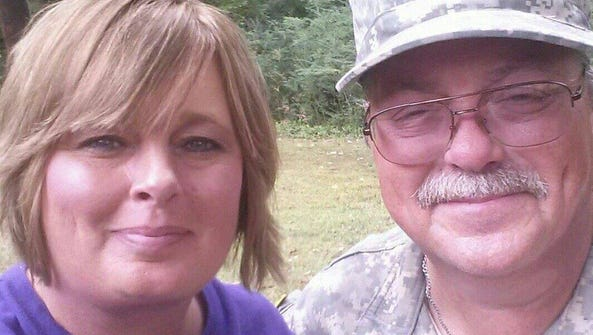 Grenada reserve officer Kenny Engle and his wife Angie