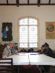 A Bible study met at Mt. Olivet Baptist Church, 141