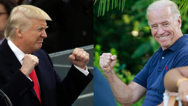 President Donald Trump and Vice President Joe Biden frequently engage in wars of words.
