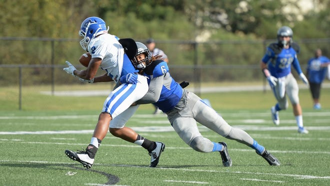 Former Faulkner safety Marte Sears signed with Edmonton as a free agent Tuesday.