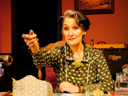 """Kres Mersky stars as Albert Einsein's secretary in the CVRep production of """"The Life and Times of A. Einstein."""""""