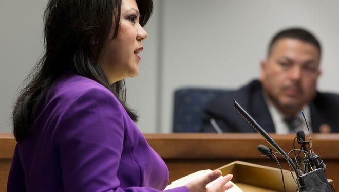Republican State Sen. Kimberly Yee (R-District 20)