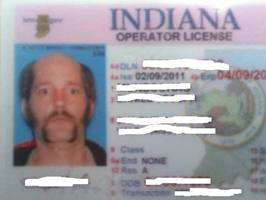 The finished product. Redditor Daniel Mundschau, now a resident of the Milwaukee area, created this wild-eyed, crazy look for his Indiana drivers license when he lived in Valparaiso in 2011. His post about the process of creating the image for the photo was upvoted to Reddit's front page and been picked up by MetaFilter.